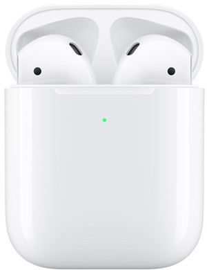 APPLE AirPods II mit kabellosem Ladecase